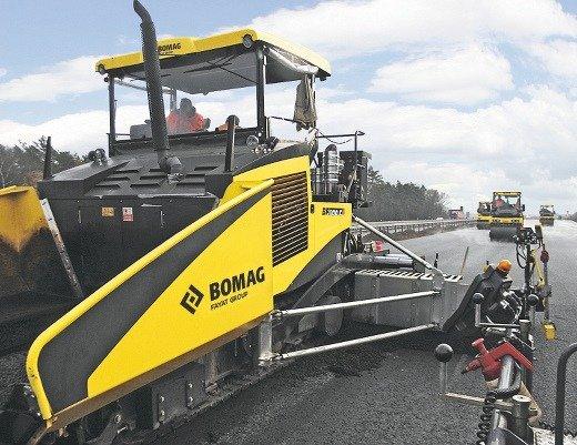 Extendedoras de asfalto: ventajas de las máquinas Bomag