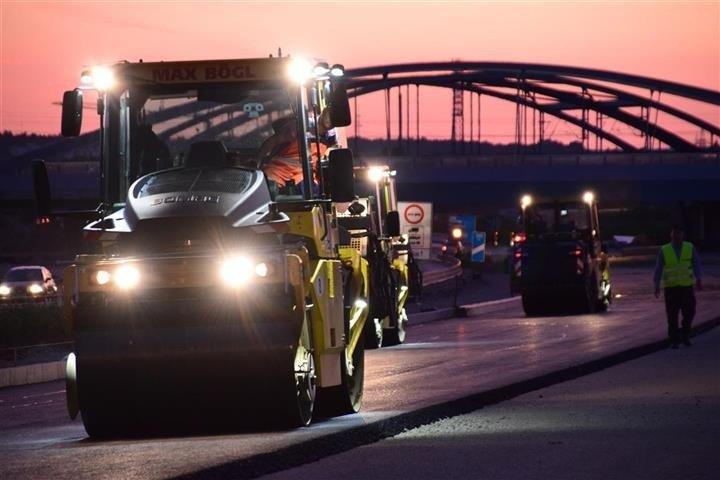 Alemania usa la tecnología más vanguardista de Bomag en su autopista A3