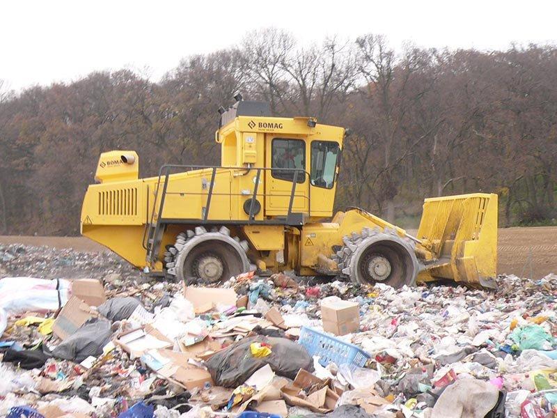 Compactadores de basura: máxima eficacia de un vertedero