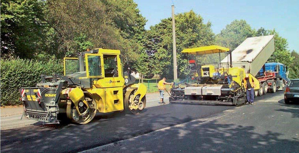 Clasificación de capas de asfalto: capas base, capas de ligante y capas de rodadura